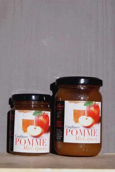 confitures-pommes-miel-epices