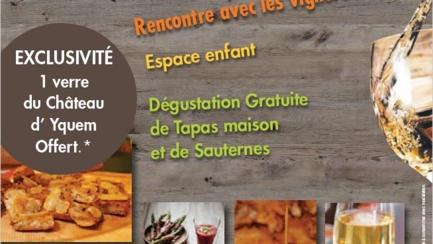 Sauternes & Tapas